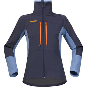 Bergans Visbretind Jacket Dame night blue/dusty light blue/pumpkin